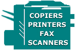 Copiers, Printers, Faxes, Scanners